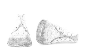 sketch-baby-shoes